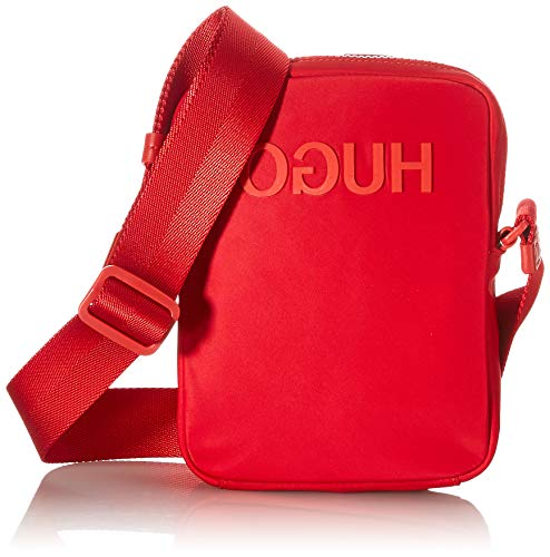 HUGO Record_NS Zip, Sac bandoulière Homme, Bright Red620, Taille Unique