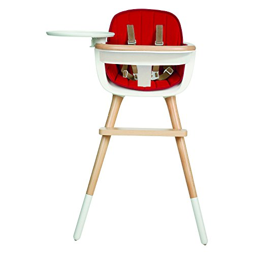 Best Buy! Micuna OVO MAX Luxe High Chair with Seat Fabric in Red