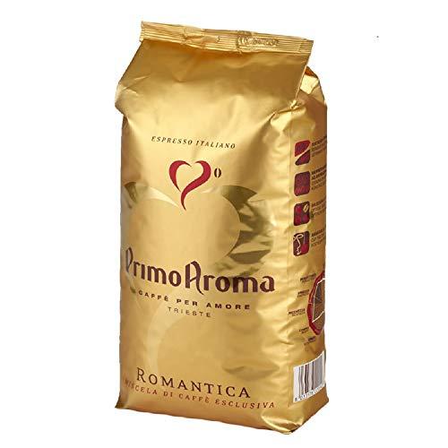 Primo Aroma Caffé Romantica Kaffeebohnen 1000g Espresso Kaffee, Die Mischung Romantica ist von Corrado Bassanese, dem Inhaber und Röstmeister von Primo Aroma speziell für den deutschen Markt zusammengestellt worden.