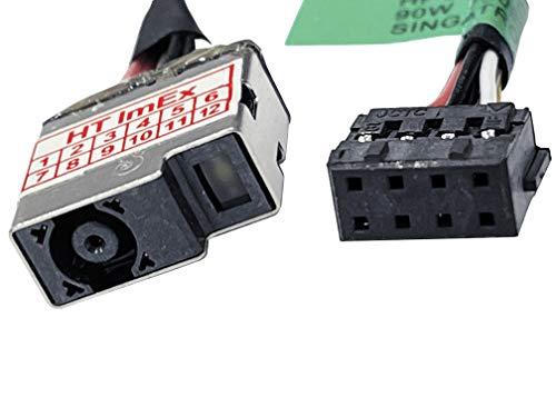 HT ImEx - Conector de alimentación hembra DC Jack compatible con HP Pavilion 15-n001ax, 15-n045eg, 15-n266sg, 15-n005sg, 15-n047eg, 15-n267ca, 15-n007eg, 15-n050eg, 15-n267SG