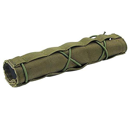 Gexgune Suppressor Cover Airsoft Military Shooting Taktische Schalldämpfer Quick Release Cover Shooting Schalldämpfer Baffler Protector