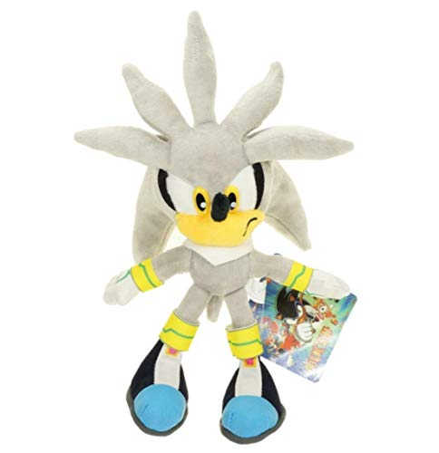 Sonic The Hedgehog Collector 8' Plush Doll Toy : Sonic Shadow Chao (Silver Sonic)