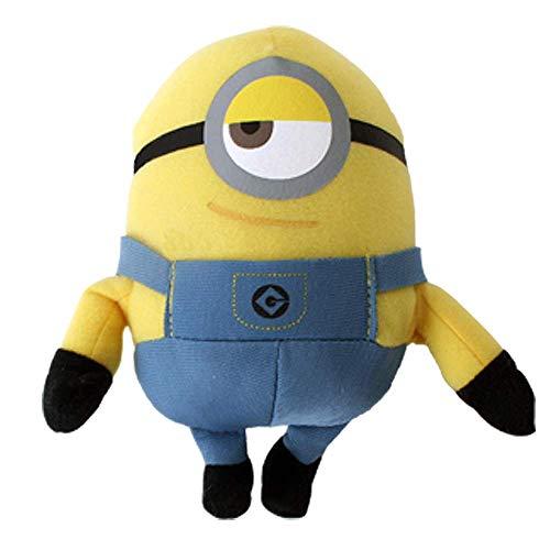 TE-Trend Minion Stuart Minions Toys - Figura de peluche (15 cm), multicolor