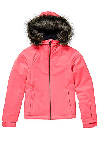 O'Neill Mädchen Kinder Snowboard Jacke Curve Jacket Girls, neon Tangerine pink, 152