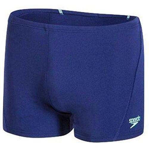 Speedo Men Race Endurance+ Polyester Solid Square Leg Swimsuit