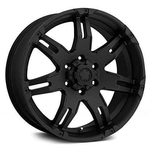 Ultra Wheel 238B Gauntlet Black Wheel (17x9'/5x5.5mm, +20 mm offset)