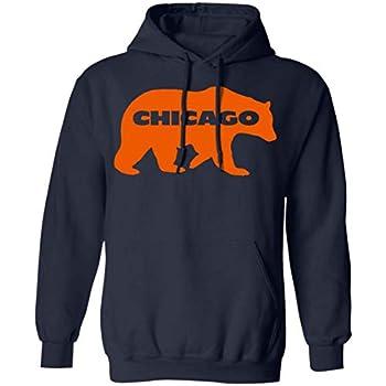 Da Bear Chicago Gridiron Hoodie Navy 4XL
