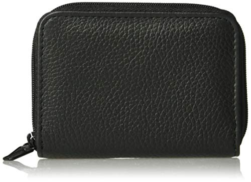 Buxton Hudson Pik-Me-Up Wizard Wallet, Black