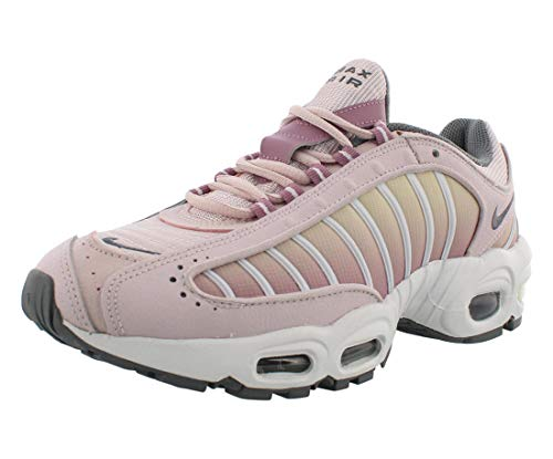 Nike Women's Air Max Tailwind 4 Casual Shoes (Barely Rose Smoke Grey, Numeric_8)