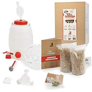 B Maker – Kit de cerveza belgian triple – Idea regalo para hombre y mujer – Kit para hacer cerveza en casa – reutilizable y fabricado en Francia – 3 litros