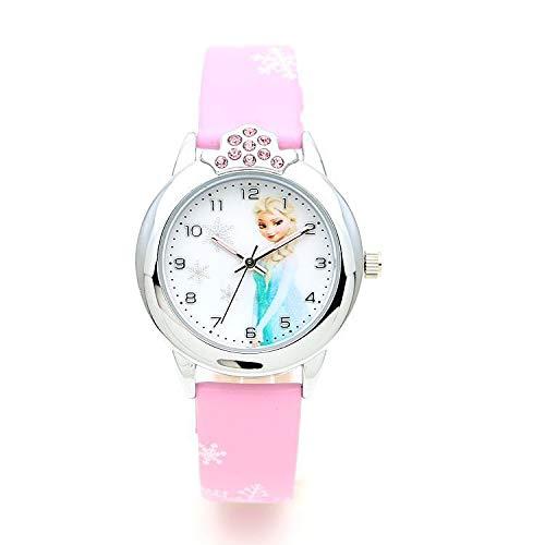 Orologio da polso per bambina Elsa Frozen Rosa