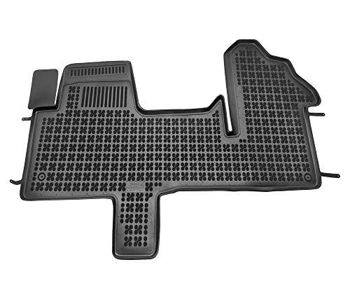 Alfombrillas de Goma Compatible con Renault MASTER III - delanteras (desde 2010) + Limpiador de Plasticos (Regalo) | Accesorios Coche Alfombrilla Suelo
