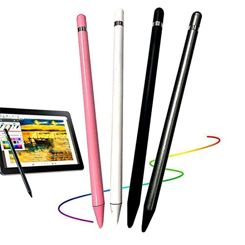 Stylus Pen for Touch Screens, Thin Capacitive Touch Screen Pen Stylus for iPhone iPad Samsung Phone Tablet  (Pink)