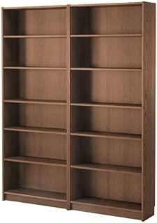 Ikea Bookcase, brown ash veneer 6386.171720.610