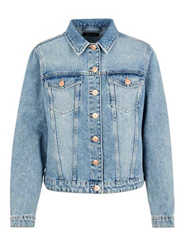 PIECES Female Jeansjacke Regular Fit MLight Blue Denim
