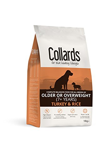Collards âgés ou surpoids Dinde et Riz, 10 kg