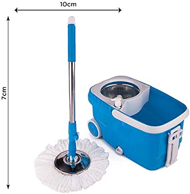 CHAKAACHAK Steel Spin Bucket Mop