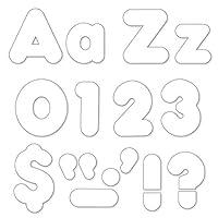 Trend Enterprises Inc. T-79905BN White 4 Casual Combo Ready Letters 6 Packs [並行輸入品]