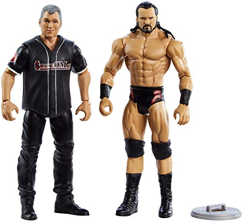 WWE Drew McIntyre vs Shane McMahon Battle Pack Series #66 with Two 6-inch Articulated Action Figures & Ring Gear