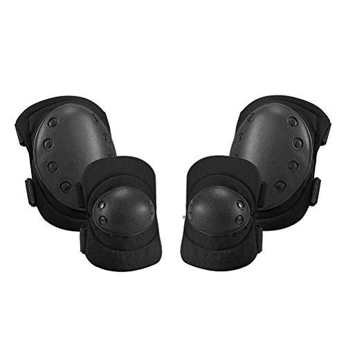 Ahagut Protective Knee Pads Thick Sponge Anti-Collision Kneepads Protector für Volleyball Handball Tanzen Mountainbiking