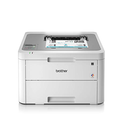 Brother HL-L3210CW Colour Laser Printer - Single Function, Wireless/USB 2.0, Compact, 18PPM, A4 Printer, Small Office/Home Office Printer