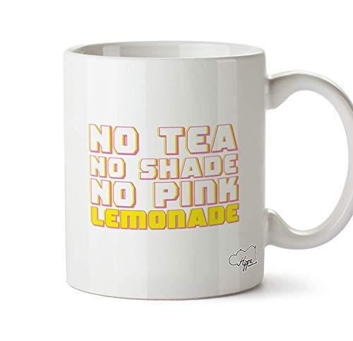 ChGuangm No Tea No Shade No Pink Lemonade Printed Mug Cup Ceramic 10oz