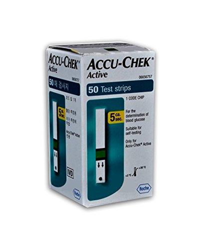 Accu-Chek Active Blutzuckerteststreifen (50Stück)