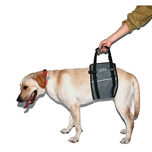 NOBLE DUCK Behinderter Hunde Hundegeschirr Tragbarer Dog Support Sling mit Verstellbarem Schultergurt Dog Lift Support für Ältere, Verletzte, Behinderte Hunde