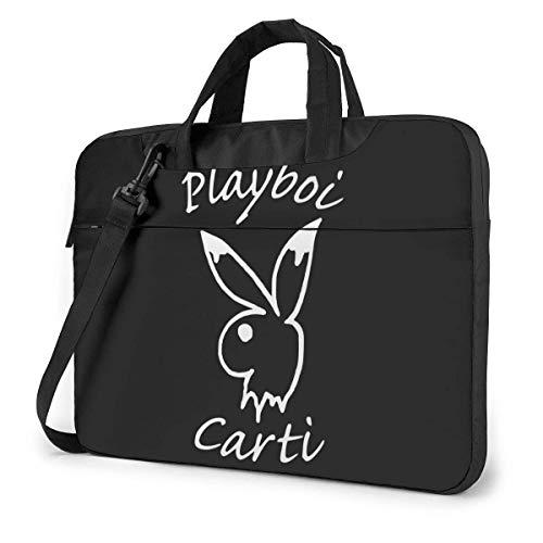 AmyNovelty Laptop Bag,Playboi Carti Business Messenger Bag, Suaves Y Cómodos Bolsos De Hombro para Computadora Portátil para Niños Y Niñas,40x29x2cm