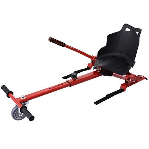 CO-Z Silla de Hoverboard Compatible para Adultos Hoverkart para Patiente Eléctrico de...