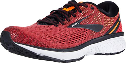 Brooks Ghost 11, Scarpe da Running Uomo, Rosso (Red/Black/Orange 677), 45 EU
