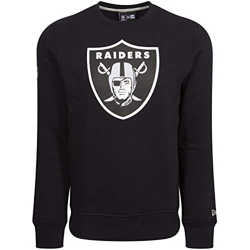 New Era Pullover - NFL Oakland Raiders schwarz - XXS