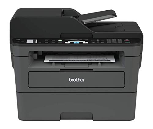 Brother MFC-L2710DW Mono Laser Printer - All-in-One, Wireless/USB 2.0, Printer/Scanner/Copier/Fax Machine, 2 Sided Printing, A4 Printer, Small Office/Home Office Printer