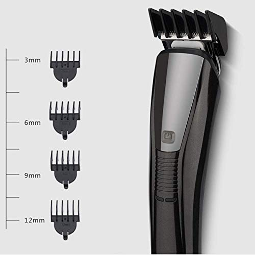 Hair Clippers voor mannen, 3 in 1 elektrische tondeuse Kit Washable Cordless Hair scheerapparaat Nose Hair Trimmer, Mens Scheren Grooming,Black