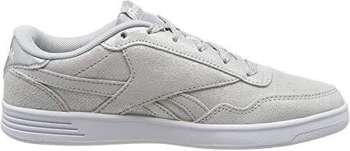 Reebok Damen Royal Techque T Fitnessschuhe, Mehrfarbig (Silver Metallic/White/LGH Solid Grey 000), 38 EU
