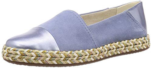 Geox Damen D Modesty A Espadrilles, Blau (Lt Blue C4003), 35 EU