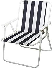 Folding Chair camping trips - Black/White