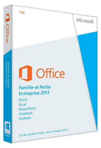 Office Famille et Petite Entreprise 2013 - 1 PC (carte d'activation)
