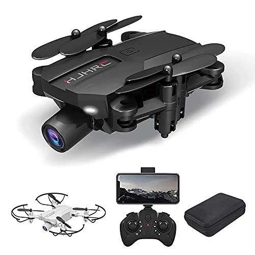 ZHCJH Drone Optical Flow Positioning RC Quadcopter con cámara 4K HD Modo sin Cabeza de retención de altitud FPV Plegable Drones WiFi Live Video 3D Flips 6Axis RTF Easy Fly Steady for Learning