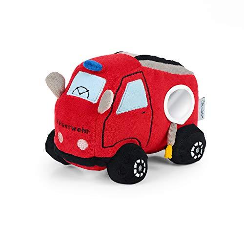 Sterntaler Funktions-Spielzeug Feuerwehr, Mit Soundmodul, Alter: 0-36 Monate, Größe: 13 cm, Farbe: Rot