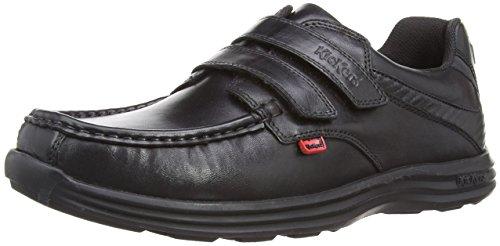 Kickers Reasan Strap Lthr Am, Zapatos para Hombre, Negro (Black), 39 EU