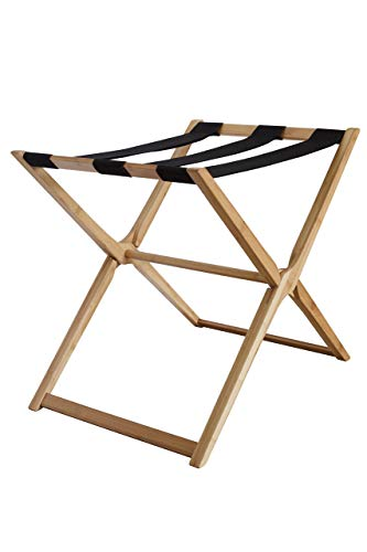 Learn More About In This Space Modern Bamboo Luggage Rack (Renewed)