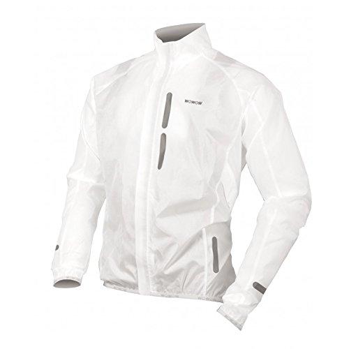 WOWOW Bike Wind Jacket White Medium Erwachsene, Unisex, Gelb, M