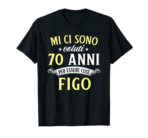 Mi Ci Sono Voluti 70 Anni Di Compleanno Uomo Donna Regalo Maglietta