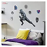 Marvel Black Panther Wall Decal - Avengers Wall Decal with 3D Augmented Reality Interaction - 22