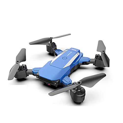 SDDS Foldable GPS Drone with 4K UAV Camera for Adults, Quadcopter App Control WiFi Transmission One-Key Takeoff/Landing, 360° Roll Gesture Photo Headless Mode, Beginner Kids Toy Airplane,Blue