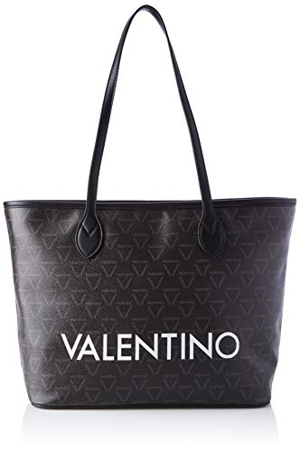 Valentino Bags Damen LIUTO Tote, Braun (Nero Multicolor), 15x29x39 cm (B x H x T)
