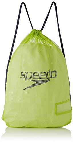 Speedo Equipment Mesh Mochila  Unisex  Verde  Talla única