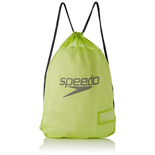 Speedo Equipment Mesh, Borsa Unisex Adulto, Multicolore (Lime Punch/Grey), Taglia Unica