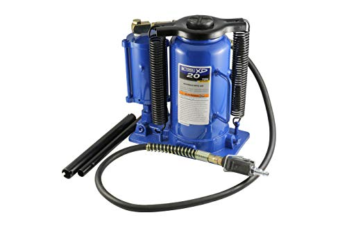 K Tool International - 20 Ton Air/Hydraulic Bottle Jack (Xd) (63228A)